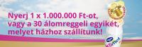 Nyerj! 1x 1 000 000 Ft-ot!  Actimel nyereményjáték
