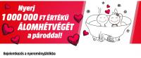 Valentin-nap nyereményjáték