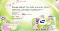 Zewa nyereményjáték: Tavaszi virágok friss illata nyereményekkel!