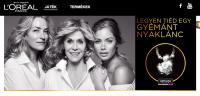 Vásárolj L'Oréal Paris terméket és nyerj egy gyémánt nyakláncot!