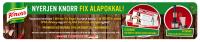 SPAR - Knorr Fix nyereményjáték