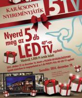 Pelikán Bevásárlóközpont -Karácsonyi Nyereményjáték!
