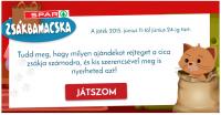 """""""ZSÁKBA MACSKA"""" - SPAR NYEREMÉNYJÁTÉK"""